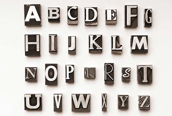 print block letters