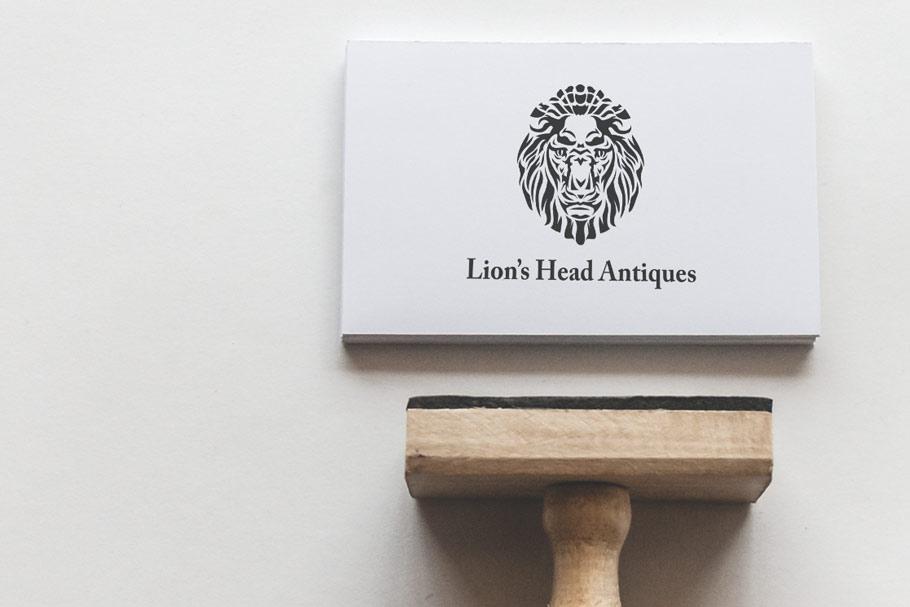 logo design for antique shop