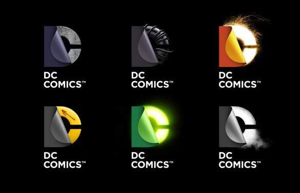 new dc comics logo mockups