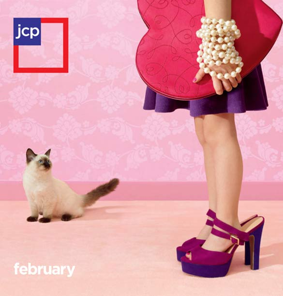 jcpenney logo in advertisement