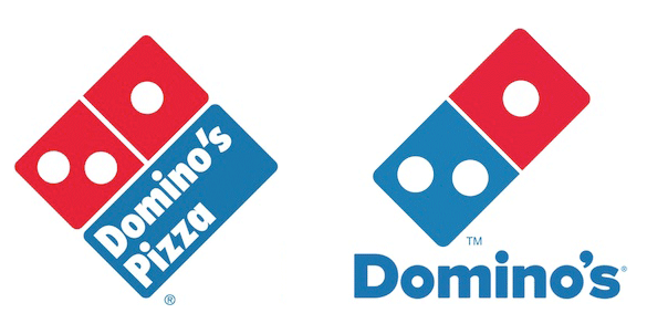 dominos new logo design