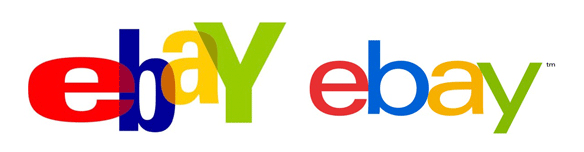 ebay new and old logo