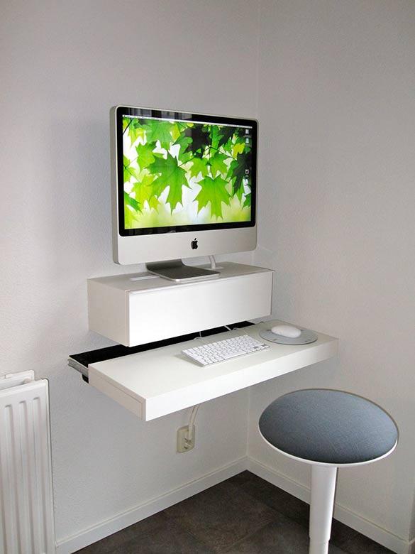 imac computer wall stand