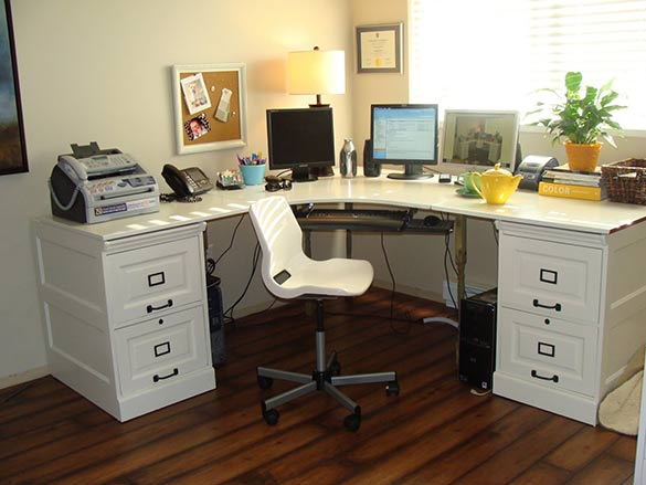 build your own graphic design computer desk