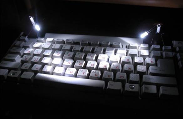 diy computer keyboard lights