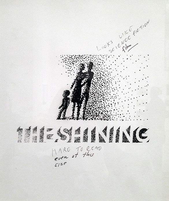 Saul Bass rejected poster design