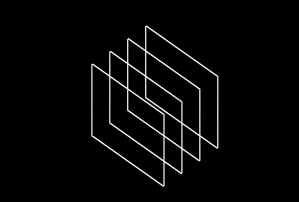 overlaying squares design