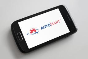 auto mart logo design