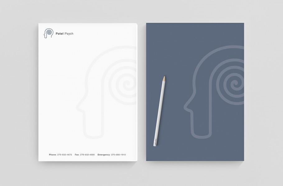 psychiatry letterhead design