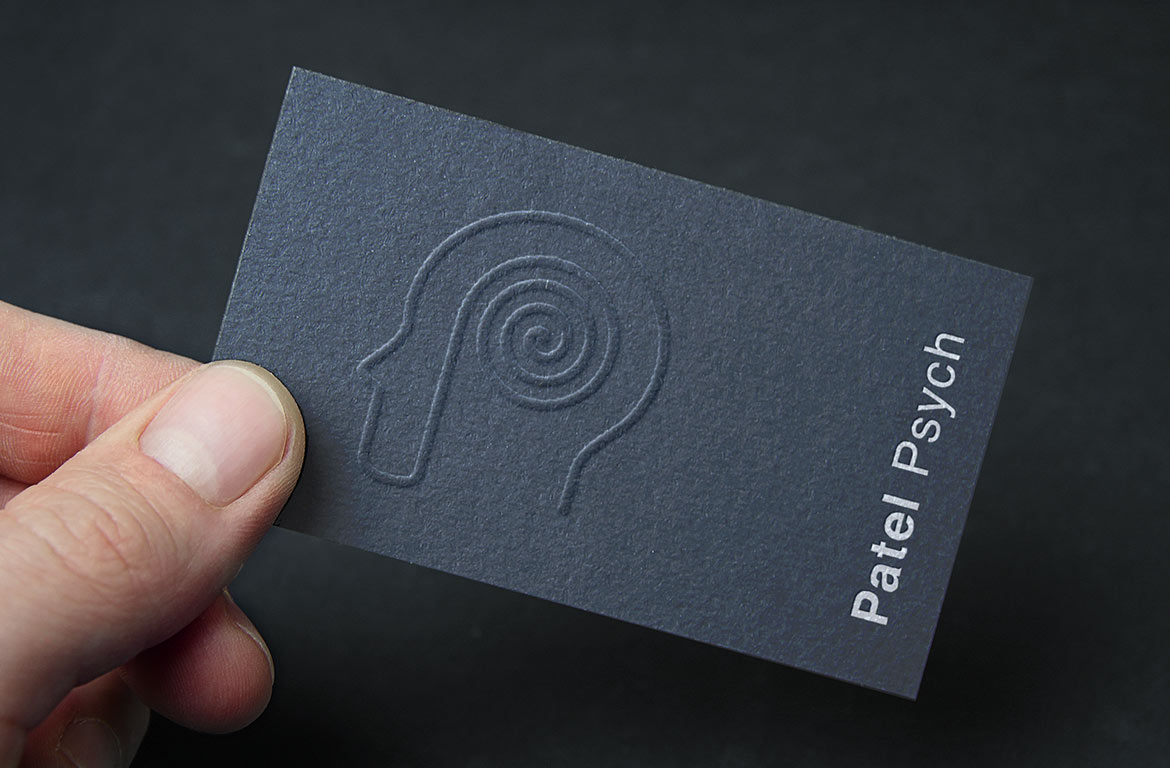 psychiatrist business card