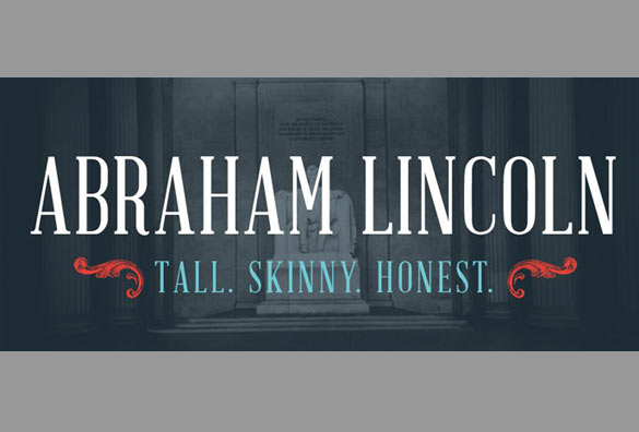 abraham lincoln free font