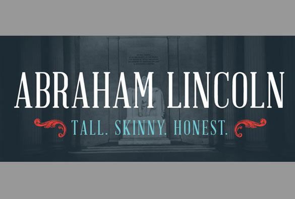 abraham lincoln free font