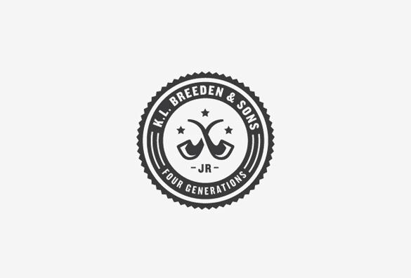 badge style logo design