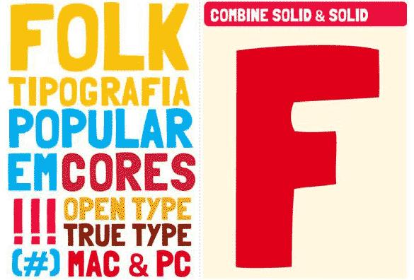 folk free font