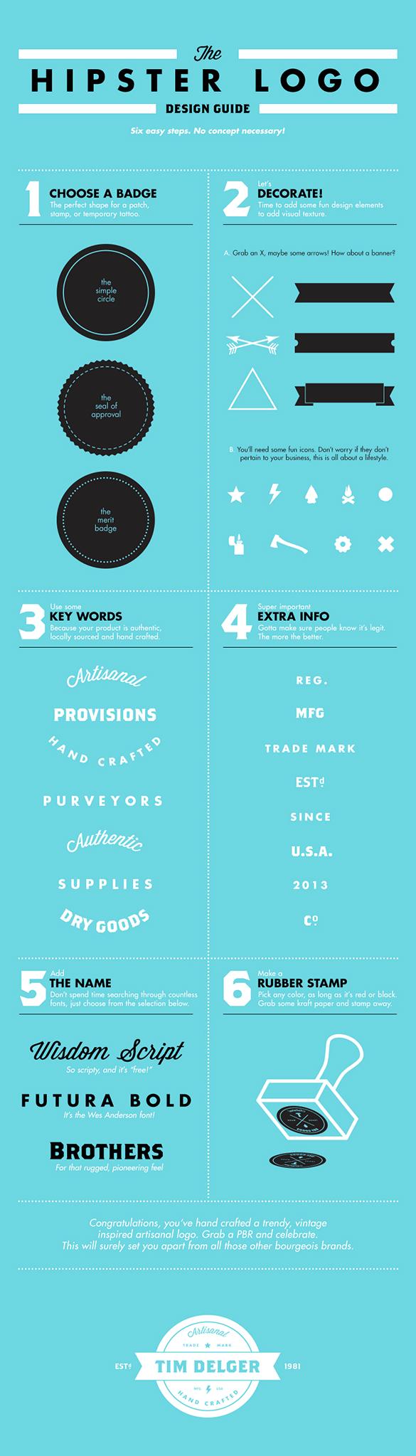hipster logo design guide
