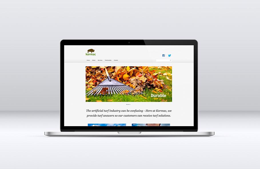 kormac web design