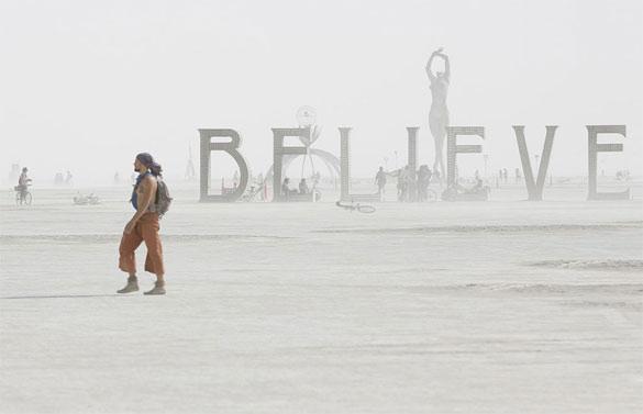 believe sculpture