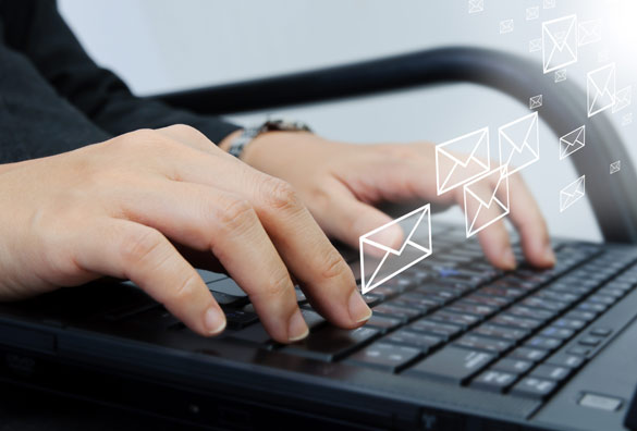 emailing clients
