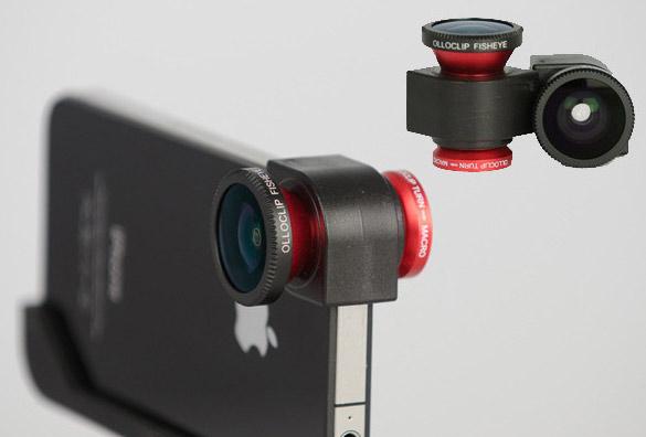 iphone fisheye lens