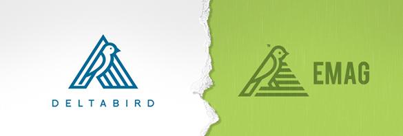 logo design theft emag