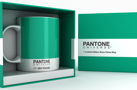 pantone coffee mug for designer