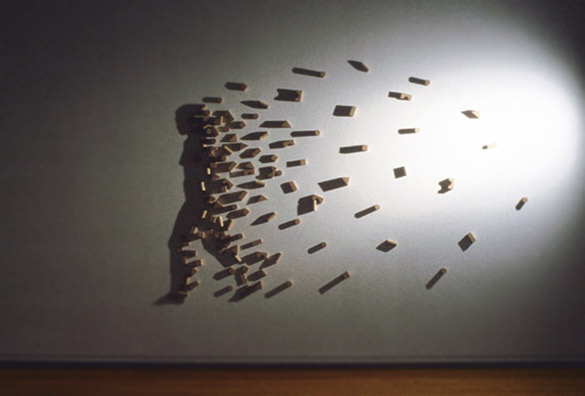 shadow art wall