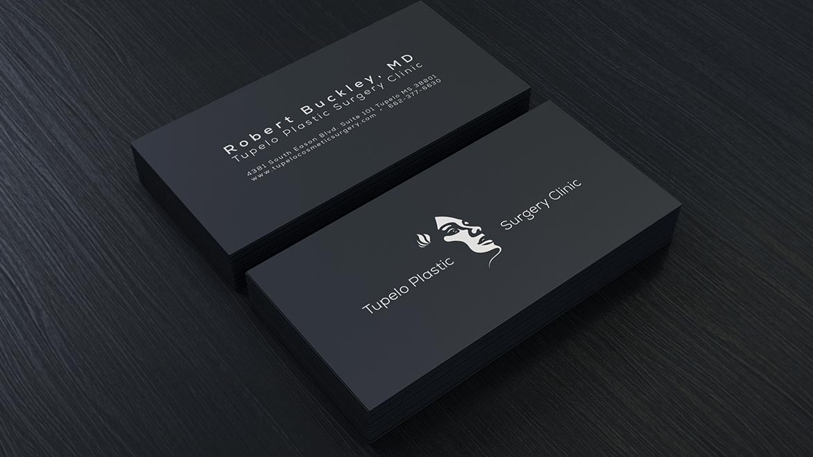 plastic surgery business card