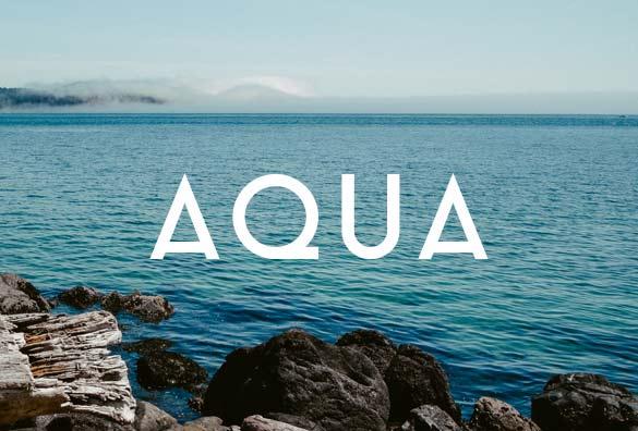 aqua font free