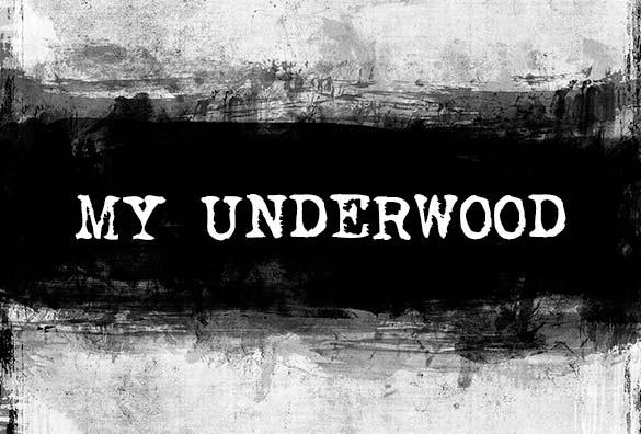 underwood font