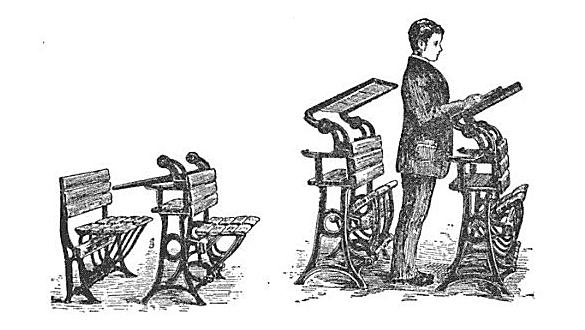 height adjustable work desk