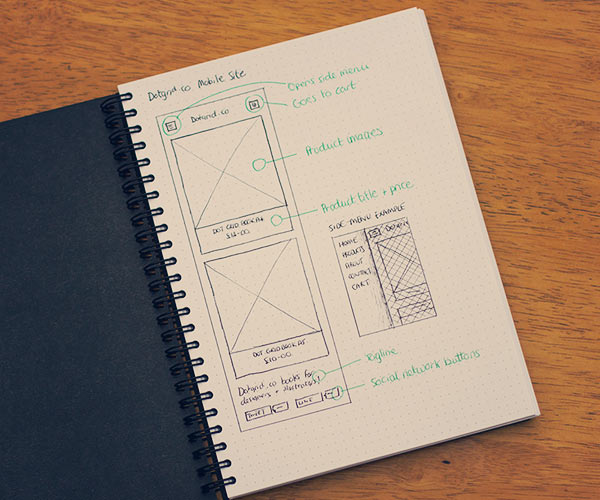 mini dot grid book