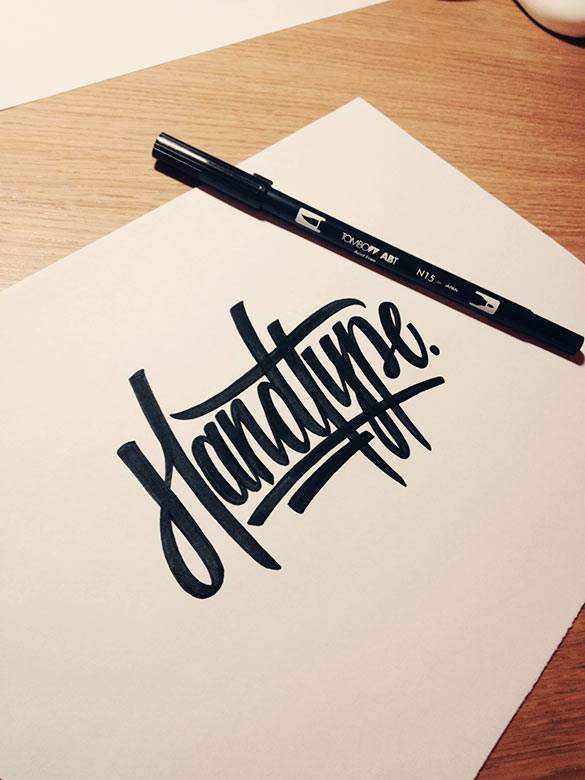 Tombow brush pen (image source: doitjeffstyledotcom)