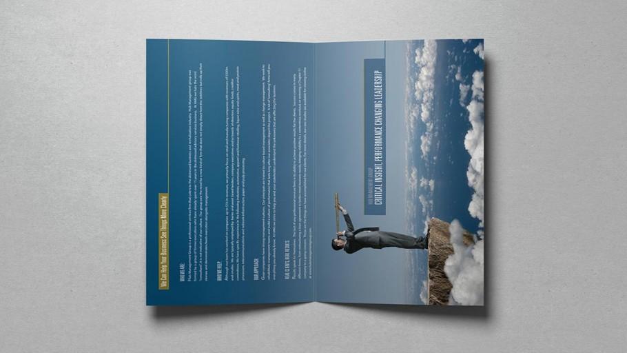 brochure design inside