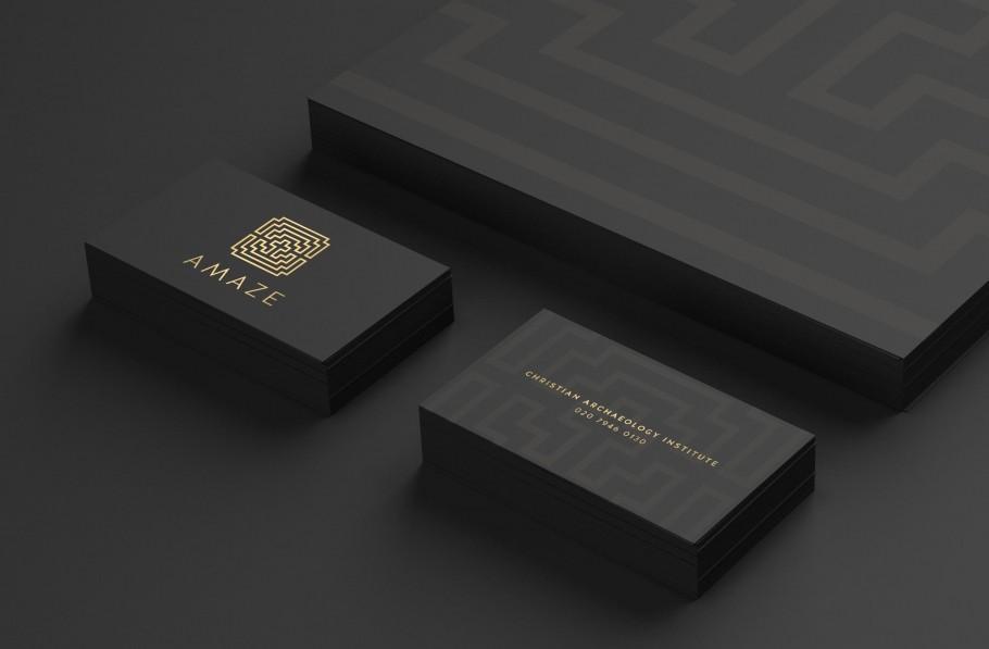 christian archaeology business card