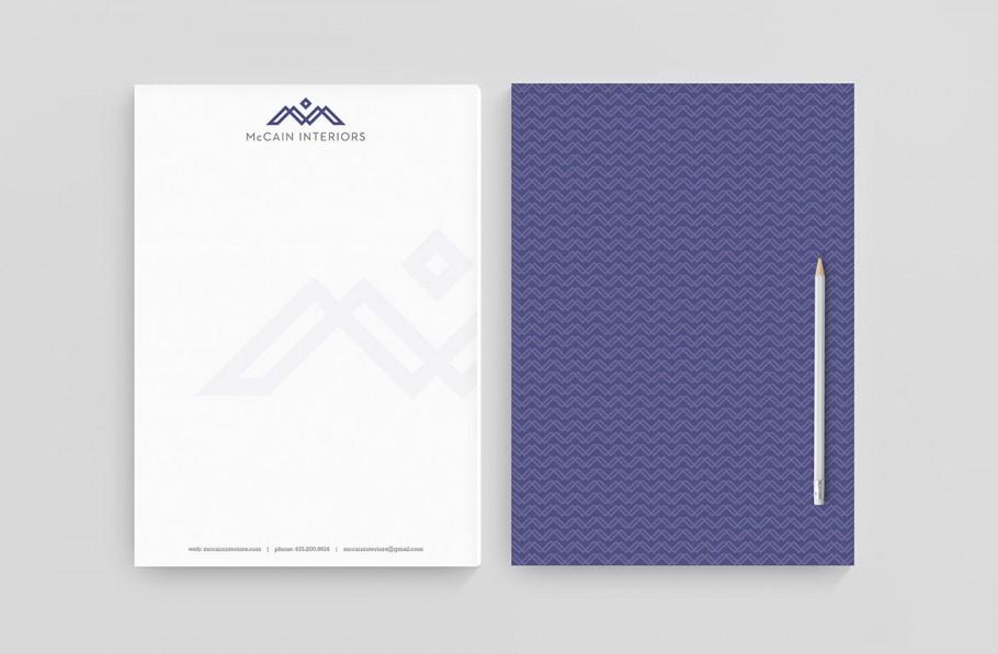 interior designer letterhead