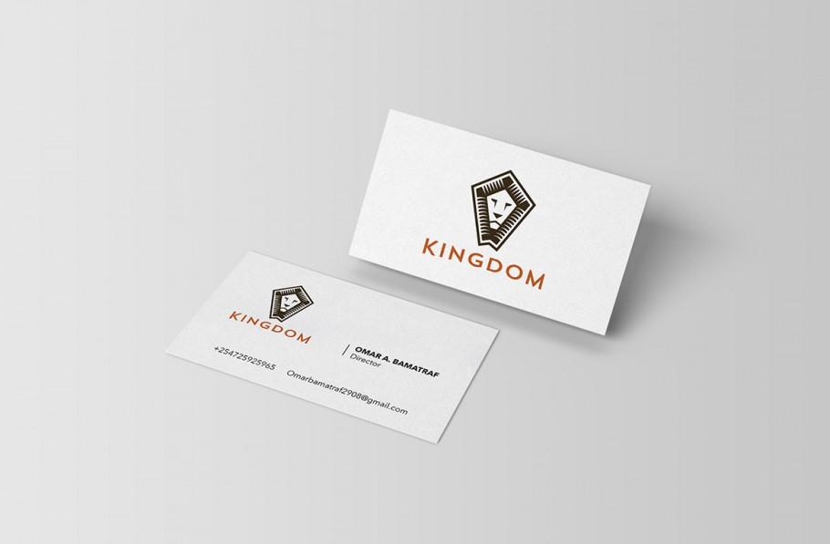kingdom business card design