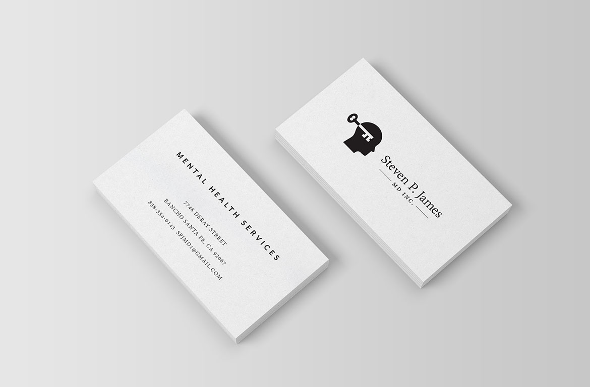psychiatry business card