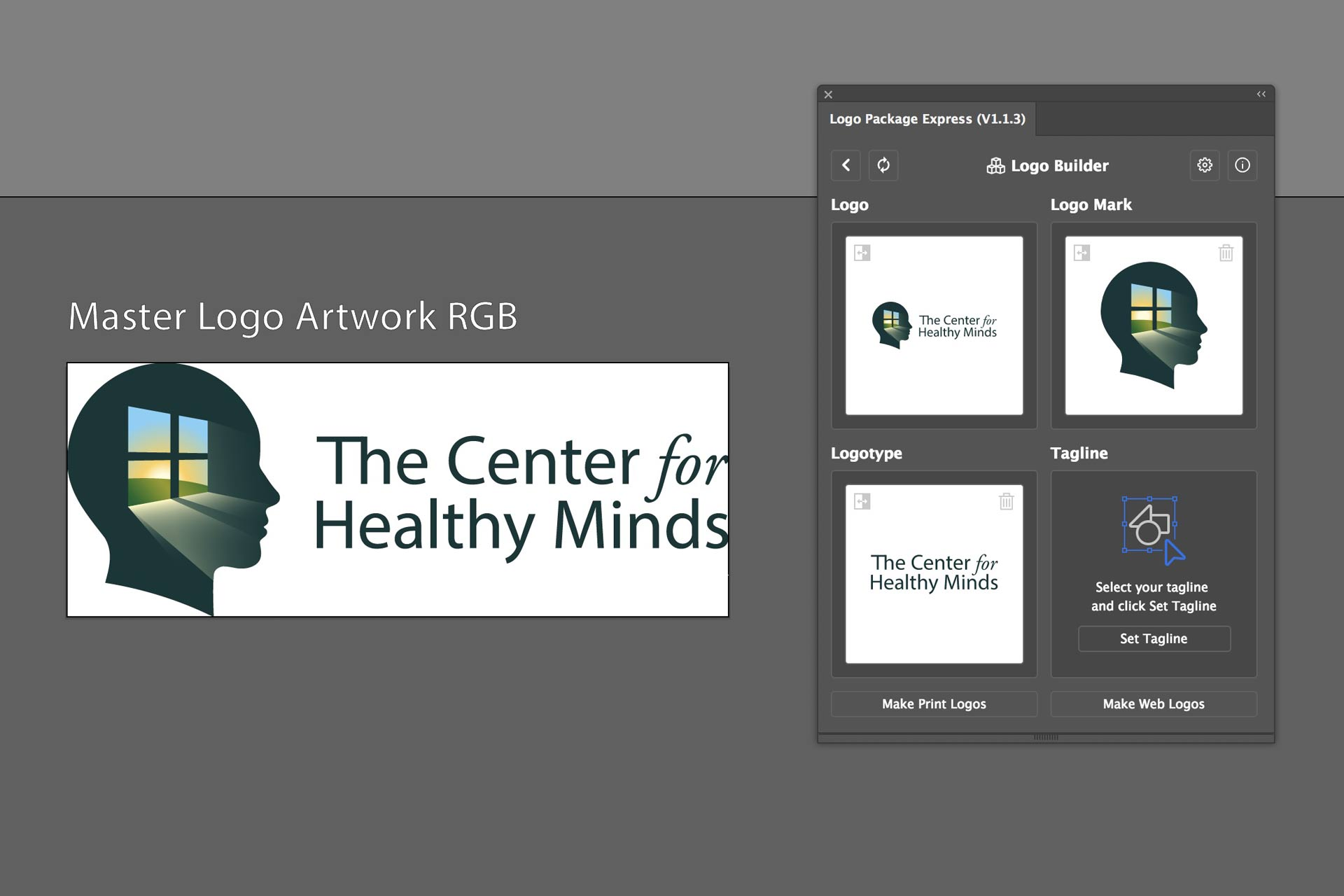 select logo elements